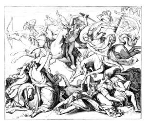 4 Horsemen of the Apocalypse - 4 Cavaliers - 4 Reiter